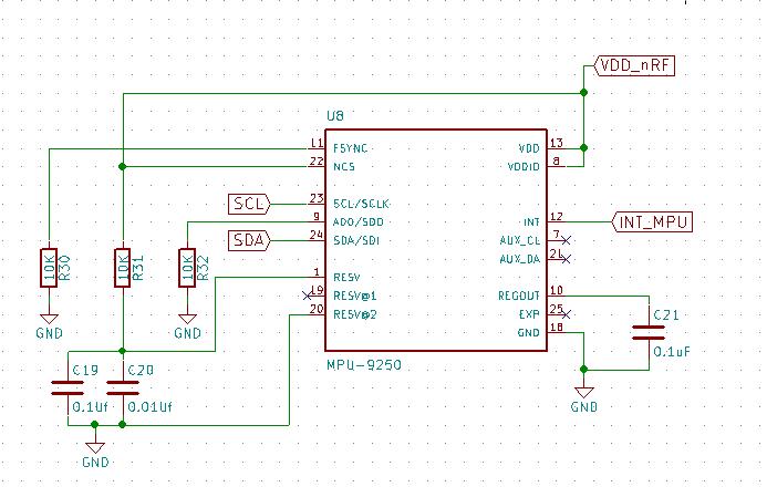 Problem communication with MPU9250 - MPU-9150 9-axis